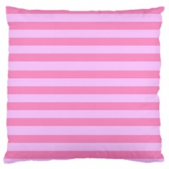 Fabric Baby Pink Shades Pale Standard Flano Cushion Case (One Side)