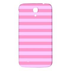 Fabric Baby Pink Shades Pale Samsung Galaxy Mega I9200 Hardshell Back Case