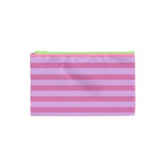 Fabric Baby Pink Shades Pale Cosmetic Bag (XS)