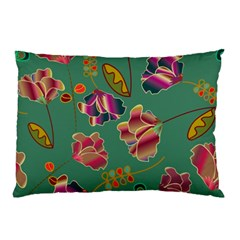 Flowers Pattern Pillow Case (Two Sides)