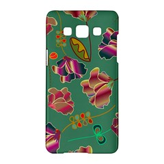Flowers Pattern Samsung Galaxy A5 Hardshell Case