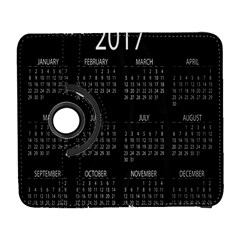 Full 2017 Calendar Vector Galaxy S3 (Flip/Folio)