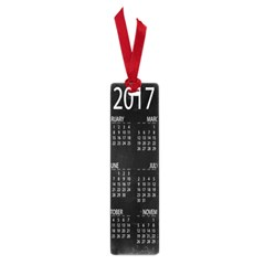 Full 2017 Calendar Vector Small Book Marks