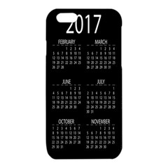 Full 2017 Calendar Vector iPhone 6/6S TPU Case