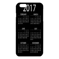 Full 2017 Calendar Vector iPhone 6 Plus/6S Plus TPU Case