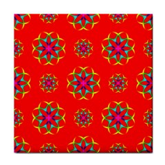 Geometric Circles Seamless Pattern Face Towel