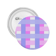Gingham Checkered Texture Pattern 2.25  Buttons