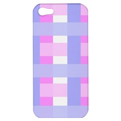 Gingham Checkered Texture Pattern Apple iPhone 5 Hardshell Case