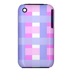 Gingham Checkered Texture Pattern iPhone 3S/3GS