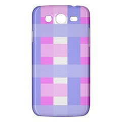 Gingham Checkered Texture Pattern Samsung Galaxy Mega 5.8 I9152 Hardshell Case
