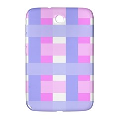Gingham Checkered Texture Pattern Samsung Galaxy Note 8.0 N5100 Hardshell Case