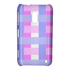 Gingham Checkered Texture Pattern Nokia Lumia 620