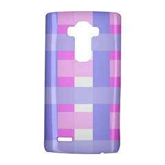 Gingham Checkered Texture Pattern LG G4 Hardshell Case