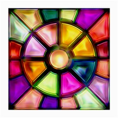 Glass Colorful Stained Glass Medium Glasses Cloth (2-Side)