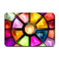 Glass Colorful Stained Glass Small Doormat