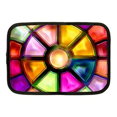 Glass Colorful Stained Glass Netbook Case (Medium)