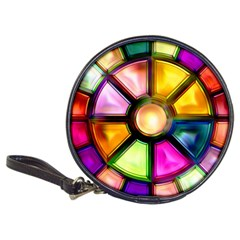 Glass Colorful Stained Glass Classic 20-CD Wallets