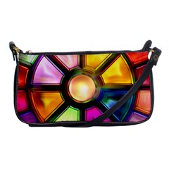 Glass Colorful Stained Glass Shoulder Clutch Bags