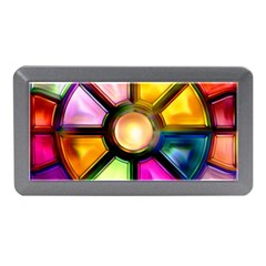 Glass Colorful Stained Glass Memory Card Reader (Mini)