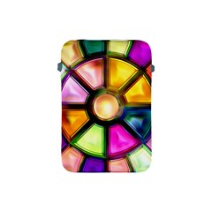 Glass Colorful Stained Glass Apple iPad Mini Protective Soft Cases