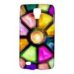 Glass Colorful Stained Glass Galaxy S4 Active