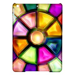 Glass Colorful Stained Glass iPad Air Hardshell Cases