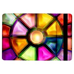 Glass Colorful Stained Glass iPad Air Flip
