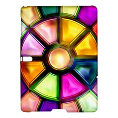 Glass Colorful Stained Glass Samsung Galaxy Tab S (10 5 ) Hardshell Case