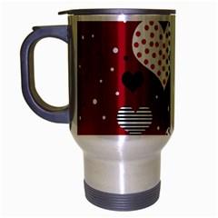 Harts Travel Mug (Silver Gray)