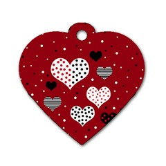 Harts Dog Tag Heart (One Side)
