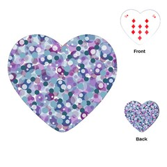 Decorative bubbles Playing Cards (Heart)