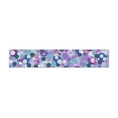 Decorative bubbles Flano Scarf (Mini)