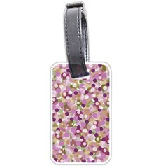 Colorful bubbles Luggage Tags (One Side)