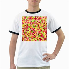 Playful bubbles Ringer T-Shirts