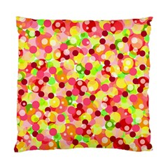 Playful bubbles Standard Cushion Case (One Side)