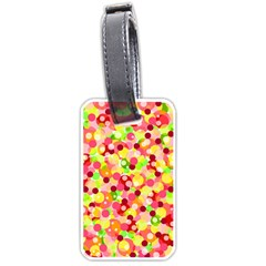 Playful bubbles Luggage Tags (One Side)