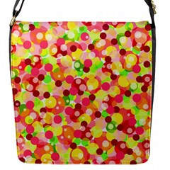 Playful Bubbles Flap Messenger Bag (s)