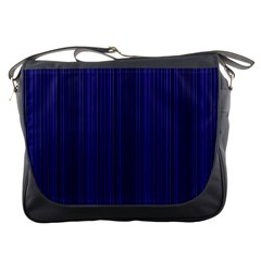 Deep Blue Lines Messenger Bags