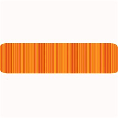 Orange pattern Large Bar Mats