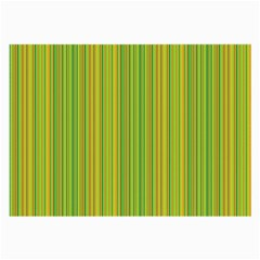 Green lines Large Glasses Cloth