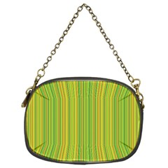 Green lines Chain Purses (Two Sides)