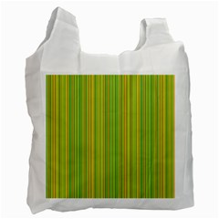 Green lines Recycle Bag (Two Side)