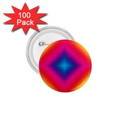 Hippie  1.75  Buttons (100 pack)