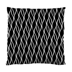 Elegant black and white pattern Standard Cushion Case (Two Sides)
