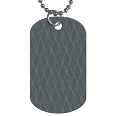 Gray pattern Dog Tag (Two Sides)