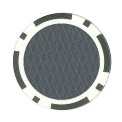 Gray pattern Poker Chip Card Guard (10 pack)