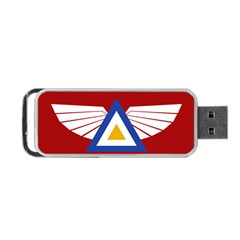 Emblem Of The Myanmar Air Force Portable Usb Flash (two Sides)