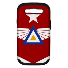 Emblem Of The Myanmar Air Force Samsung Galaxy S Iii Hardshell Case (pc+silicone)