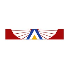 Emblem of The Myanmar Air Force Flano Scarf (Mini)