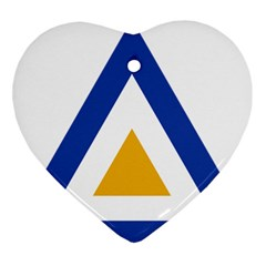 Roundel of The Myanmar Air Force Ornament (Heart)